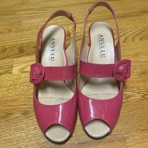Anyilu pink shoes